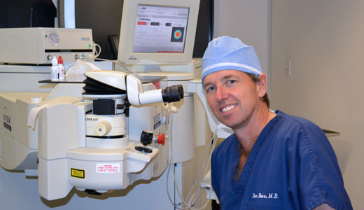 Dr.Liu Specializes in Treating Eye Diseases